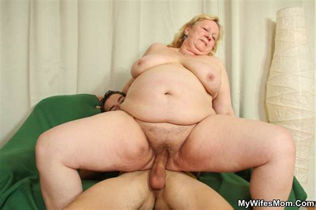 #Fat #Blonde #Mature #Seduces #Her #Son