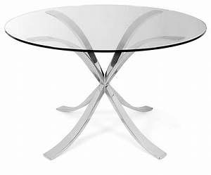 Decorus Design Sofia Dining Table Polished Stainless Steel Dining