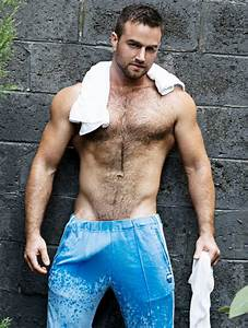 Hairy men in shorts