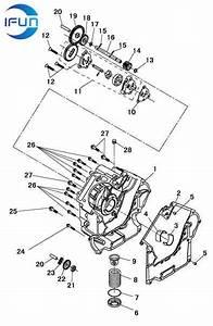 Hisun Hs800 Utv Right Crankcase Oil Pump Hisun Utv Parts Hisun Atv Parts Chinese Utv Parts