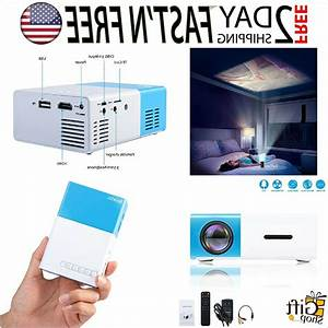Deeplee Dp300 Mini Projector  Portable Led Projector Home