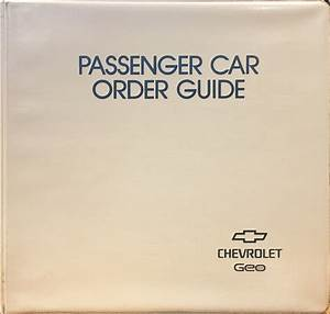 1994 Chevrolet Cavalier Repair Shop Manual Original Set