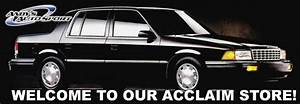 Plymouth Acclaim Parts  Acclaim Sport Compact Car Parts