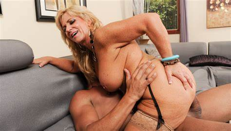 Endowed Grandma Penetrates A Women