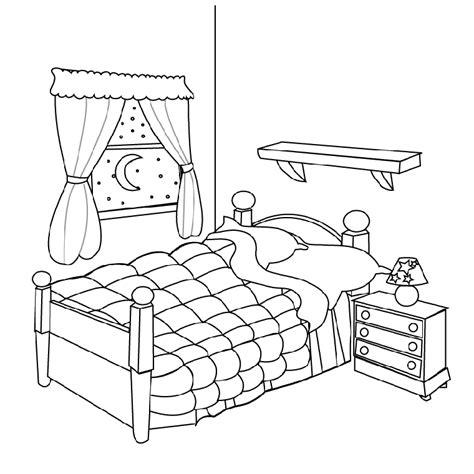 dessin de chambre coloriage chambre les beaux dessins de autres à imprimer