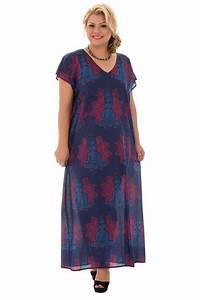 Robe Pour Femme Ronde : robe longue ample pour femme ronde avec imprim s potomac ~ Nature-et-papiers.com Idées de Décoration
