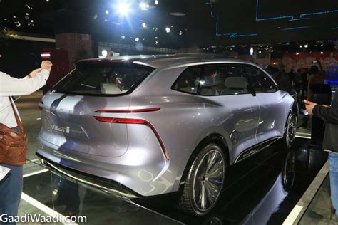 MG Showcased Roewe Vision-i Concept At Auto Expo 2020