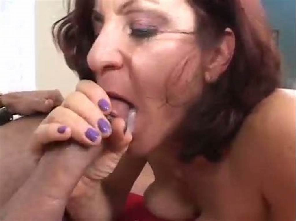 #Horny #Grandma #Take #Large #Cock #Deep #Throat #And #Swallows #Cum