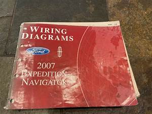 2007 Ford Expedition Lincoln Navigator Wiring Diagrams Electrical Service Manual