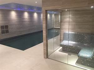 Automatic Indoor Lights London Basement Swimming Pool And Steam Room