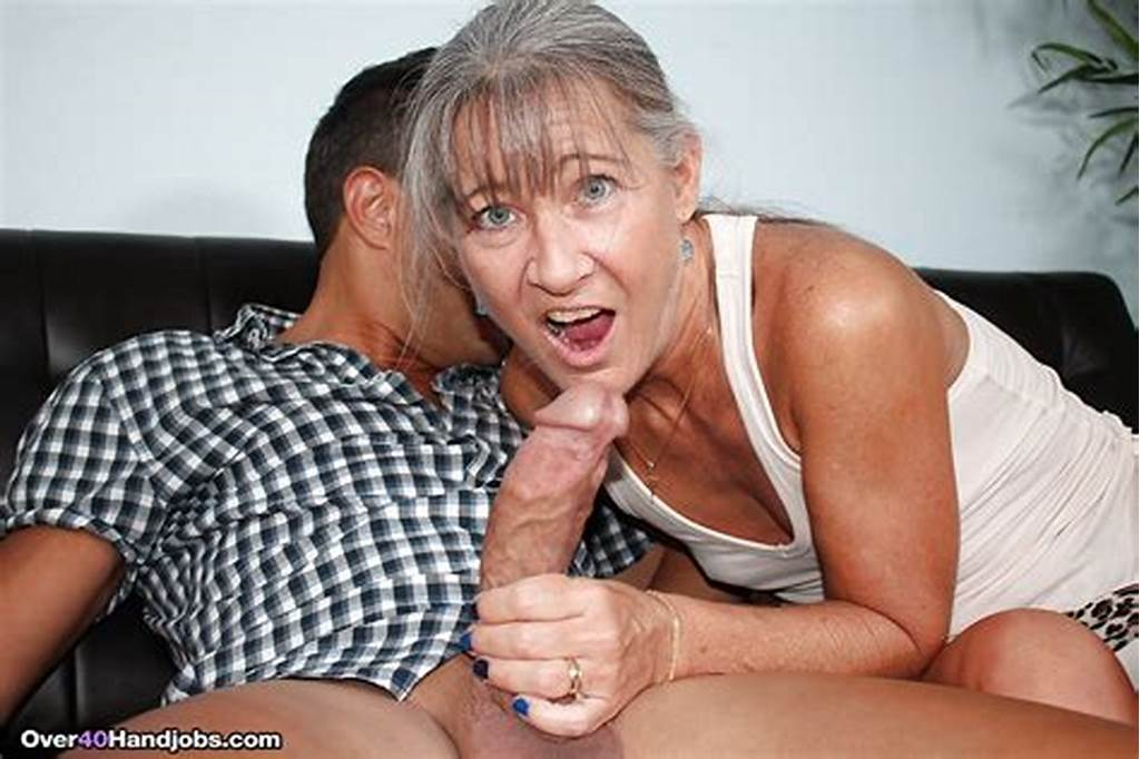 #Fully #Clothed #Over #40 #Cougar #Jerking #Fat #Cock #Until #Happy