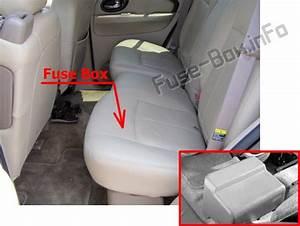 Fuse Box Diagram Buick Rainier  2003
