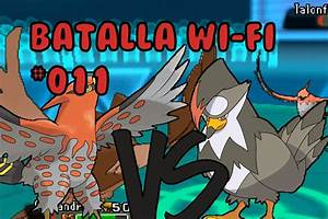 "Pokemon [OR/AZ] Batalla wifi #011 ""Staraptor vs Talonflame ..."