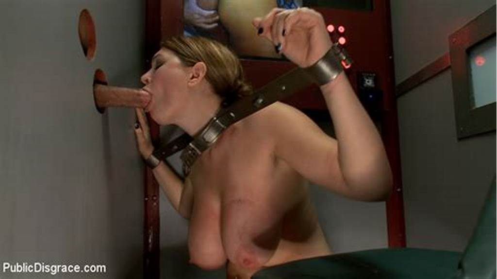 #Busty #Bound #And #Restrained #Girl #Craves #Roug