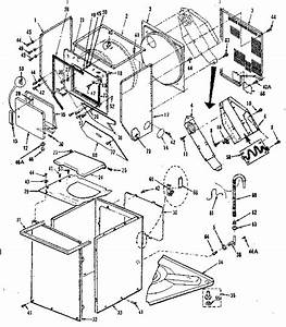 27 Kenmore Stackable Washer Dryer Parts Diagram