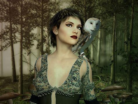 female fantasy woman  image  pixabay