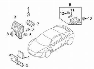 Audi R8 Relay   Rear   Emgine - 4h0951253a