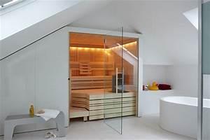 Sauna Für Badezimmer : saunakabinen cupreme helo gmbh sauna badezimmer und ~ Watch28wear.com Haus und Dekorationen
