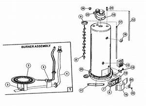 Kenmore 153332040 Gas Water Heater Parts