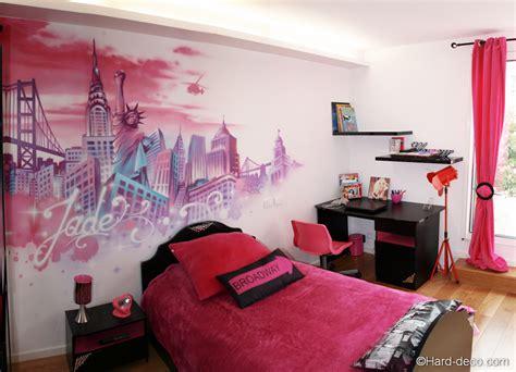 photo de chambre fille chambres de filles décoration graffiti deco