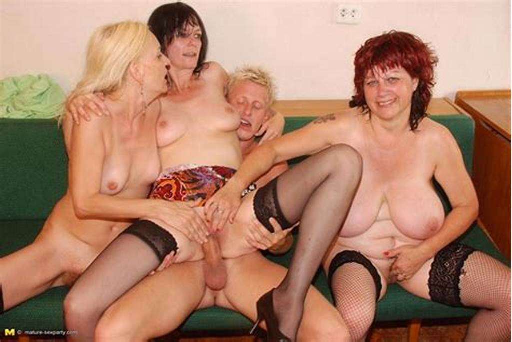 #Three #Sex #Hungry #Mature #Ladies #Share #One #Lucky #Guy