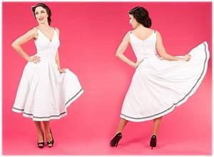 robe femme miss candyfloss blanc marin nautique annees With robe de soirée longue pour femme ronde