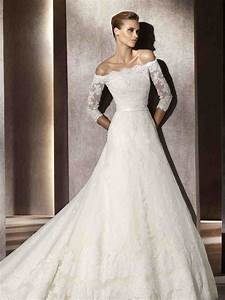 three quarter sleeve lace wedding dress wedding and With three quarter sleeve wedding dress