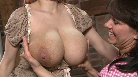 Big Nipples Curly Swallows Large Pole