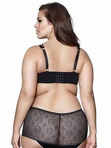 Elle Jeans Size Chart Graham Lace Satin Convertible Bra Addition Elle