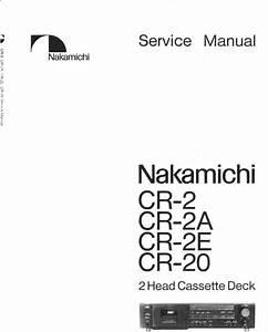 Nakamichi Cr
