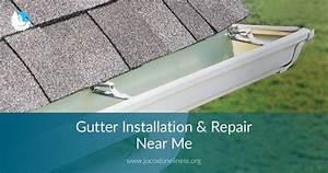 Gutter Installation  U0026 Repair Near Me