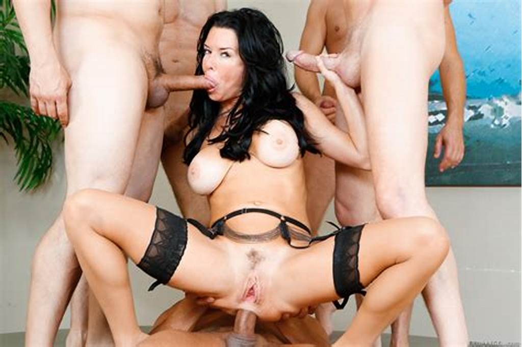 #Busty #Brunette #Sucks #Cock #While #Getting #Dp #19442