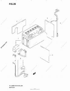 Suzuki Motorcycle 1998 Oem Parts Diagram For Battery