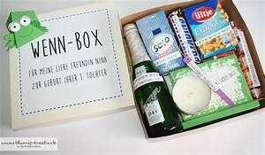 Geburtstagsgeschenk Freundin 20 : blumis kreativ blog wenn box als geschenk f r meine ~ Watch28wear.com Haus und Dekorationen