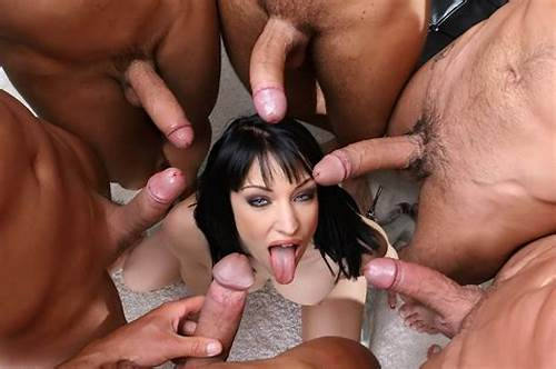 Gangbang Dicks For One Lady