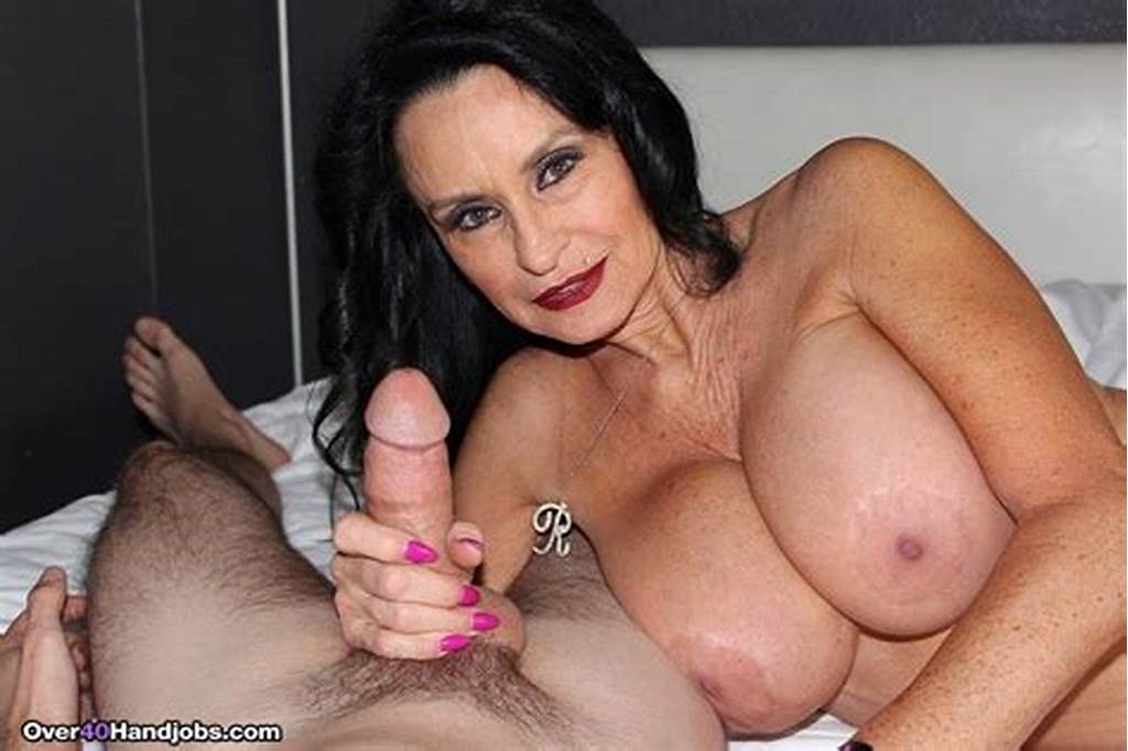 #Busty #Granny #Rita #Daniels #Playing #With #Stiff #Cock #At
