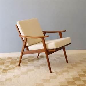 Fauteuil Vintage Scandinave : fauteuil vintage design scandinave teck la maison retro ~ Dode.kayakingforconservation.com Idées de Décoration