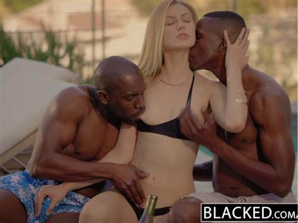 #Blacked #Alexa #Grace #First #Interracial #Threesome