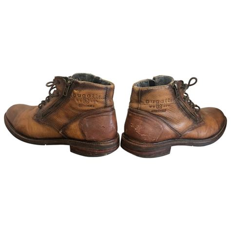 Get the lowest price on your favorite brands at poshmark. Pre-Owned Bugatti Brown Leather Boots | ModeSens