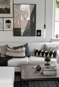 Wandbilder Grau Weiss : 50 fotos de decora o com mesa de centro e lateral ~ Sanjose-hotels-ca.com Haus und Dekorationen