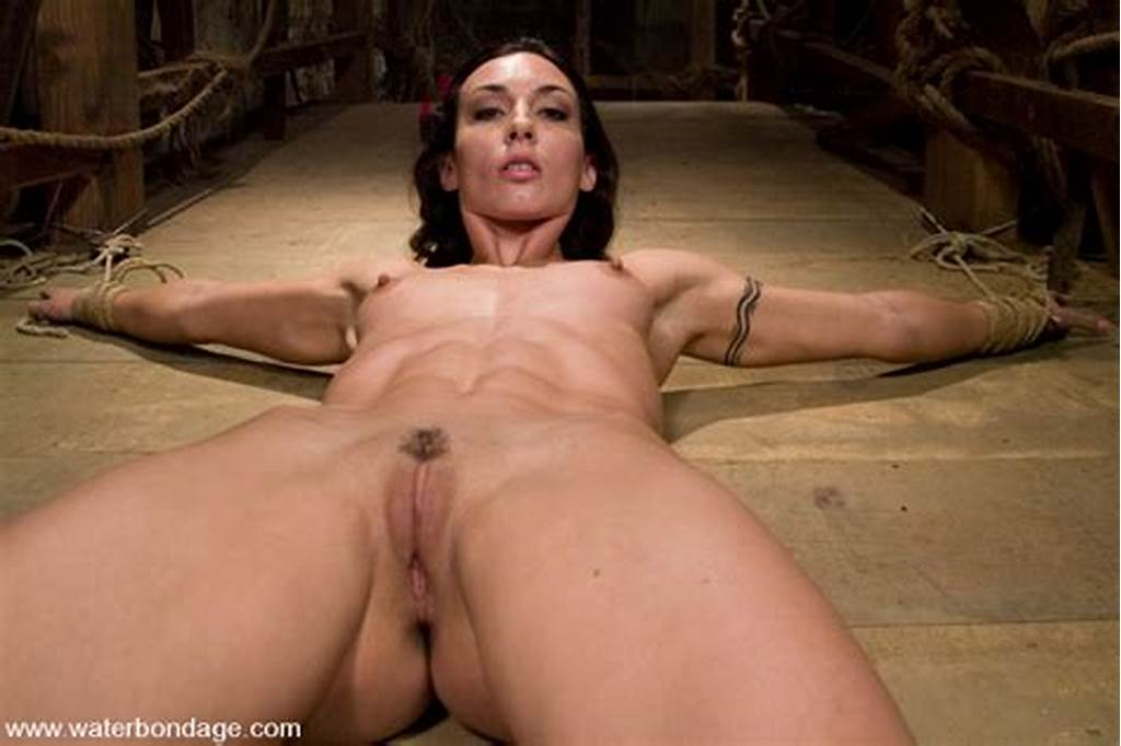 #Athletic #Hottie #Wenona #Is #Tied #Fucked #And #Sprayed