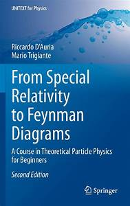 From Special Relativity To Feynman Diagrams  A Course In