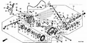 Honda Side By Side 2018 Oem Parts Diagram For Front Final