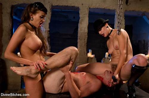Submissive European Fucks Tiedup And Dominated