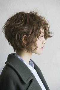 Coupe De Cheveux Bouclés Femme : coupe courte 2019 110 des plus belles coiffures courtes ~ Nature-et-papiers.com Idées de Décoration