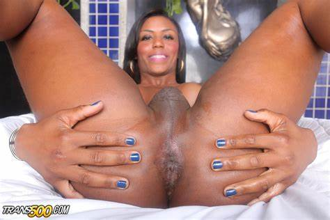 Brazil Tranny Jizz Soaked