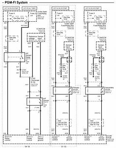 Wiring Diagram  Honda Civic O2 Sensor