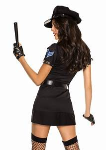 Stock Chart Gold Cop Woman Costume 59 99 The Costume Land