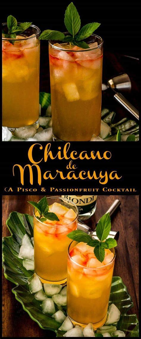 Chilcano de Maracuya (A Pisco and Passionfruit Cocktail) • Beyond Mere Sustenance