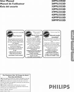 32pfl5332d  37 User Manual Philips Lcd Television Manuals